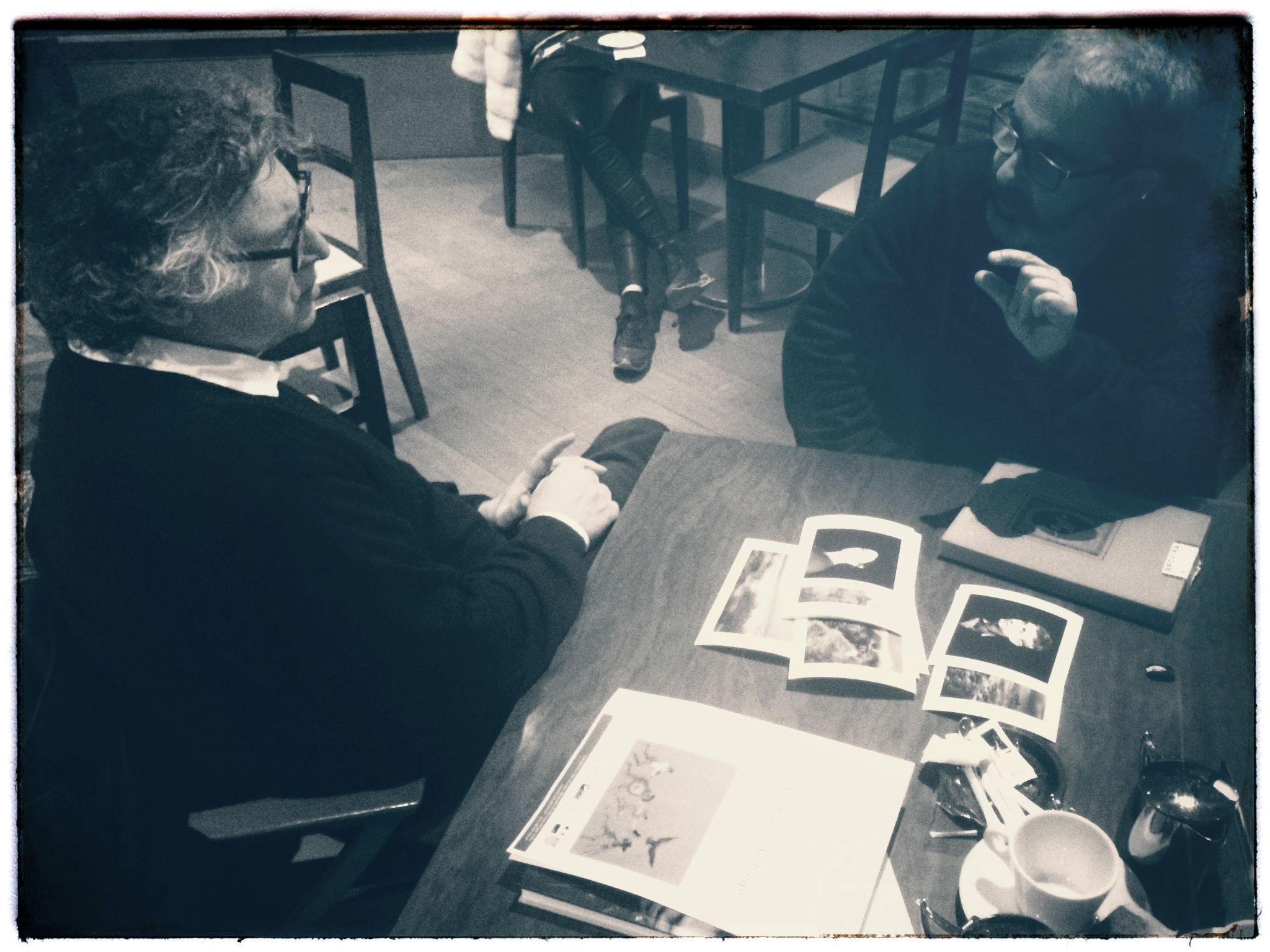 Michel Onfray et Richard Volante