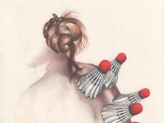 Exposition : Les corps graves, Claire Morel